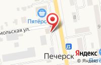 Схема проезда до компании Хвостик в Печерске