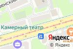 Схема проезда до компании ЧиП в Смоленске