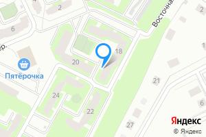 Однокомнатная квартира в Киришах Ленинградская область, Восточная улица, 18, подъезд 4