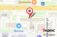 Схема проезда до компании Асконт - О в Смоленске