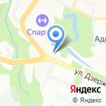 Арена на карте Смоленска