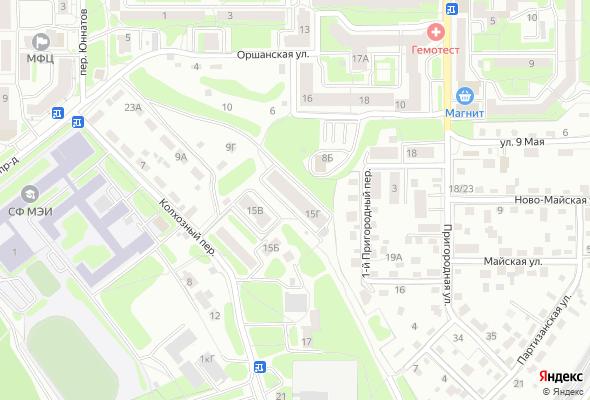 купить квартиру в ЖК Оршанский