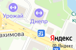Схема проезда до компании Днепр в Смоленске