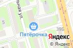 Схема проезда до компании КОНТАКТ в Смоленске