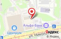 Схема проезда до компании Рослесозащита в Смоленске