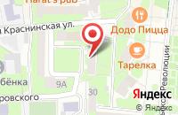 Схема проезда до компании Учебно-Деловой Центр «Практика» в Смоленске