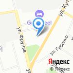 Чайка на карте Смоленска