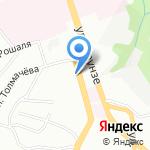 Администрация Заднепровского района на карте Смоленска