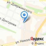 Научно-промышленный союз на карте Смоленска