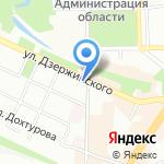 Управление ЖКХ на карте Смоленска