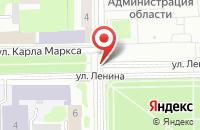 Схема проезда до компании Интерфинансинвест в Смоленске