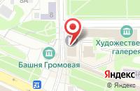 Схема проезда до компании Городская Студия Телевидения Г.Смоленска в Смоленске