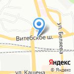 Отдел социальной защиты населения Заднепровского района на карте Смоленска