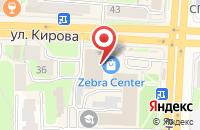 Схема проезда до компании Рекламное агентство  в Смоленске