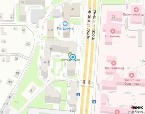 Товарищество собственников жилья «ТСЖ Лилия» на карте Смоленска