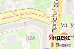 Схема проезда до компании Шифоньер в Смоленске