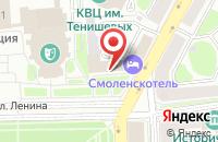 Схема проезда до компании Смоленская Переводческая Компания в Смоленске