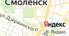 Продуктовый магазин по ул. Коммунистическая на карте