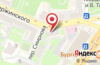 Схема проезда до компании Дентасс в Смоленске