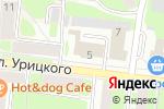 Схема проезда до компании Пожарная часть №5 в Смоленске