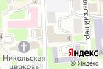 Схема проезда до компании Хуторок в Смоленске