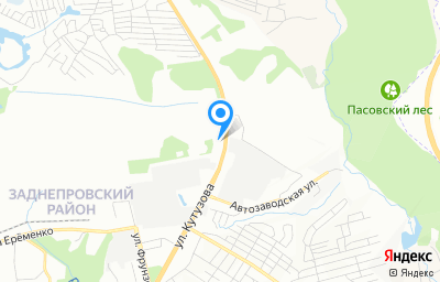Местоположение на карте пункта техосмотра по адресу г Смоленск, ул Кутузова, д 15Б