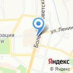Мировые судьи Ленинского района на карте Смоленска