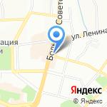 Молодежный центр-музей им. адмирала Нахимова на карте Смоленска