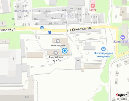 Управляющая компания «Жилищник» на карте Смоленска