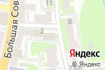 Схема проезда до компании Деловая Русь в Смоленске