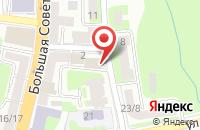 Схема проезда до компании Красный Чемодан в Смоленске