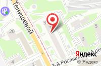 Схема проезда до компании Орион в Смоленске