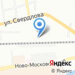 ТД Игрушка на карте Смоленска