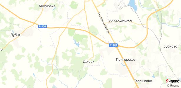 Шабаново на карте