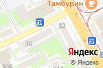 Схема проезда до компании ЛяКонд в Смоленске