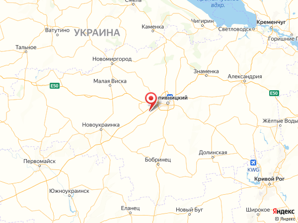село Карловка на карте