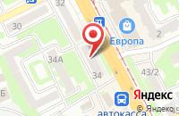 Схема проезда до компании Д - Пласт в Смоленске