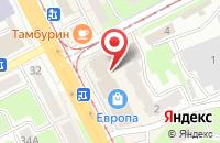 Схема проезда до компании Элегия в Смоленске
