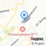 Управление государственного автодорожного надзора по Смоленской области на карте Смоленска