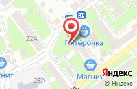 Схема проезда до компании Импексгрупп в Смоленске