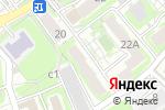 Схема проезда до компании Автоматизация в Смоленске