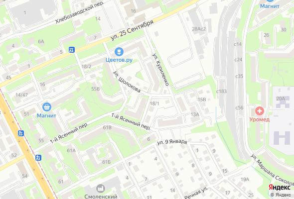 купить квартиру в ЖК По ул. Куриленко