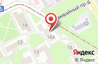 Схема проезда до компании Объединение Строительного Комплекса «Главрегионстрой» в Смоленске