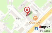 Схема проезда до компании Арт - Имидж в Смоленске