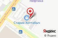 Схема проезда до компании Новые технологии в Смоленске