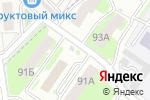 Схема проезда до компании Киоск по продаже фруктов и овощей в Смоленске