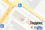 Схема проезда до компании Стеклолюкс в Смоленске