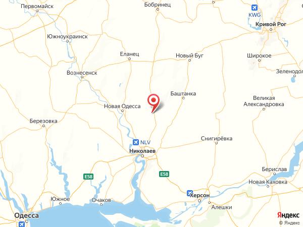 село Островское на карте