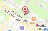 Схема проезда до компании Фаэтон Плюс в Смоленске