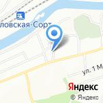 СмолТехГаз на карте Смоленска